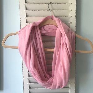 Soft pink scarf